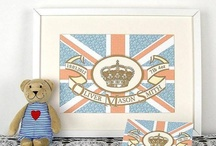 The Royal Baby / William and Kate's baby is due any day so why not celebrate with a Royal Baby board?