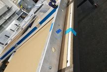 RAZORTOOTHDESIGN studio / Behind the scenes look at our custom screens and partitions all made in Brooklyn, USA.