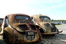 Abandoned 4CV