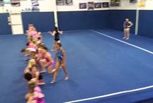 cheer gym games