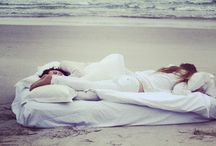 Mulberry Silk goes to the beach / Natural product in Nature