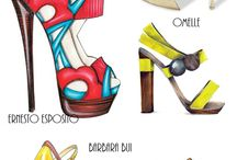 Shoe illustration & Design