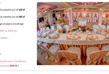 Oferta WESELNA / ZAPRASZAMY do skorzystania z oferty weselnej