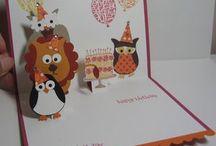 Cards - Owls / by Joyce Dillon