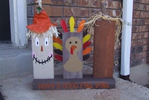 thanksgiving crafts / by Barb Dymitrowicz