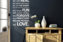 For the Home / Where ideas abound!