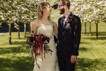 Lakewood Cemetery Chapel Wedding / Beautiful wedding floral for Hanna and Alex's wedding at Lakewood Cemetery Chapel in Minneapolis, MN. All floral designed by Twin Cities wedding florist Artemisia Studios.