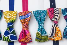 Tied Up Spring/Summer 2014 Bowtie Collection / Tied Up aims to enhance the personal style of people who are creative and unique, while injecting the vibrancy that African-inspired textiles and patterns have to offer North American fashion.  Tied Up bowties are handmade with cotton fabric and come pre-tied with an adjustable elastic band, making the bowties very easy to wear.  My bowties do more than accent personal style. They are a visual celebration of individuality.