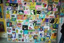 Maya Özel Okullari görsel sanat ders etkinlikleri.Rayfe Kemba ders ogretmeni