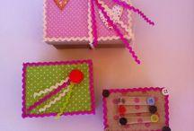 Amelie's handmade boxes