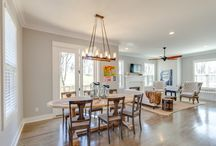 DINING ROOM / Aerial Builders // Design your dining room. Interior and architecture designs originally created by Aerial Development Group. DIY styles, architectural and interior design inspiration.