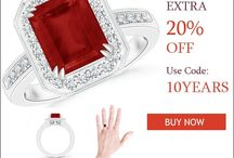 Double-Prong-Emerald-Cut-Ruby-Halo-Ring
