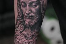 Jesus tattoo's amazing designs, artworks