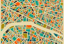 Mapped / by Society6