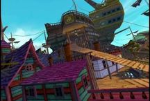Pirate101 / Pirate101 is a free to play MMO Pirate adventure game with flying ships, board game combat and far off worlds that's safe for kids and fun for players of all ages! The game allows players to create their own Pirate to sail through the Skyway in hopes of treasure and daring quests.