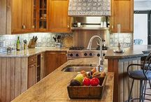Kitchens We Love / Beautiful kitchens, beautiful locales. We'd like to spend some time cooking in these.