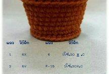 croshet vase