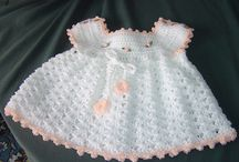 Vestidos Para Bebé De Ganchillo