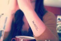 .Tattoos. / by Morgan Elycia