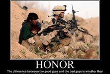 My hero wears combat boots