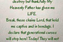My Father, God.