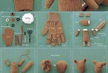 animalitos de guantes