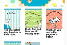 Two Bees Books / Series of animated books to engage and bring the joy of reading to the very young child.