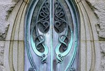 Selbstgemachtes - Tür