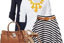 striped skirt / by Julie Kuwabara