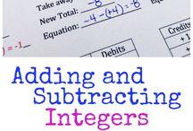 Math: integers