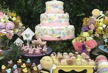Decoração Aniversário | Maternidade / Festa Infantil Inspirações Maternidade www.blogrealizandoumsonho.com.br