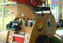 Camping Transport - this is how we roll / Caravan, RVs, trailers and anything that gets you from A to B when outdoors!
