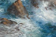 Wasser Aquarelle