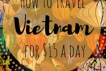 Vietnam Bucket List / Best things to see and do in Vietnam, South East Asia, dream destinations, transportation, attractions, excursions, places to see, national parks, hikes, hostels, hotels.
