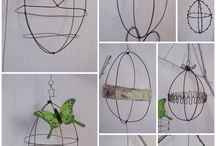 WIRE BIRD HOUSE