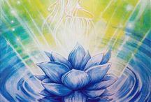 spirituális gyógyító festmények