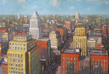Mark Horton - Cityscapes / by Tory Folliard