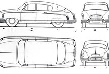 Illustration // Car Line Drawings / Car Line drawings for an Electronic Stability Control project.