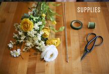 DIY Flower Crown / How to make a floral crown