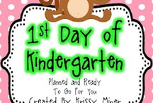 kindergarten / by Molly Williams