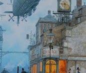 Steampunk Streets