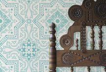 Oriental prints, patterns, colours °o0