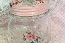 Glas og dåser/Jars and tincans