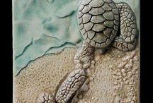 Seramik kaplumbağa