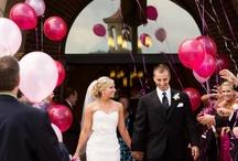 Balões para a cerimonia