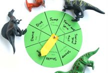 Dinosaurs movement games / Dinosaur themed games for preschool.