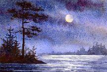 Art: Varvara Harmon, watercolors and oils