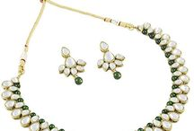 Traditional Bollywood Designer Party Kundan Necklace Set