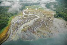 Pacific Northwest coast / aerial photos of the Pacific Northwest coast