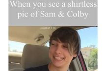 Sam And Colby❤️